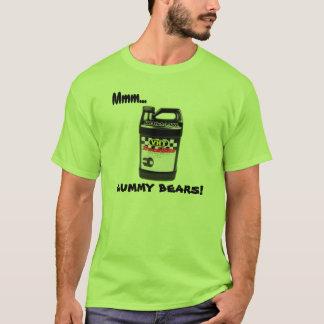 Mmm… 粘着性くま! ドラッグのレーサーのTシャツ Tシャツ