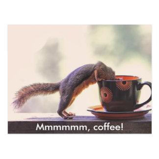 Mmmmmmのコーヒー! ポストカード