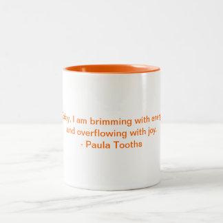 MMPT2 -ポーラTooths著やる気を起こさせるなマグ ツートーンマグカップ