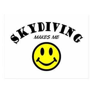 MMS: Skydiving ポストカード