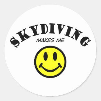 MMS: Skydiving ラウンドシール