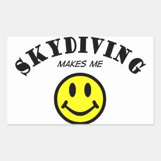 MMS: Skydiving 長方形シール