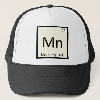 Mn -モンテレージャックのチーズ化学周期表 キャップ