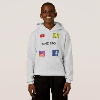 MNZ BROのフード付きスウェットシャツ