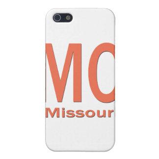 MOミズーリの明白なオレンジ iPhone 5 カバー