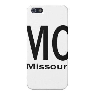MOミズーリの明白な黒 iPhone 5 カバー