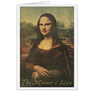 Moaner: リサ- Notecard カード