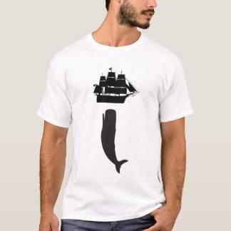 Mobyディックの上昇のTシャツ Tシャツ