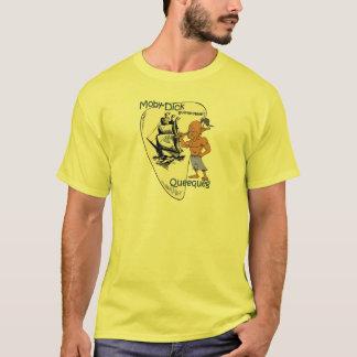 """Mobyディック""の~ Queequeg ""主なHarpooner"" Tシャツ"