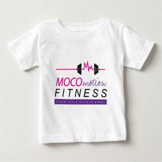 MOCOmotionのフィットネスの服装 ベビーTシャツ