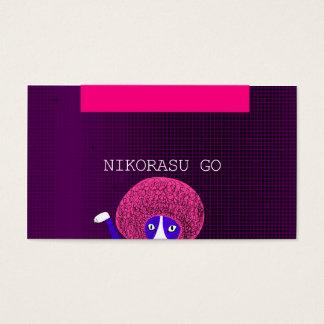 MODERN AFUROCAT BUSINESS CARD 名刺
