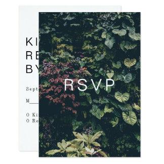 Modern Botanical RSVP: II カード
