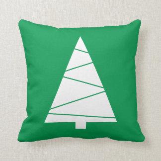 Modern Geometric Christmas Tree Holiday Custom クッション