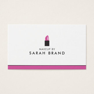Modern Makeup Artist Lipstick 名刺