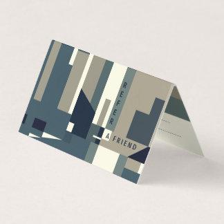 Modern Referral Card 名刺