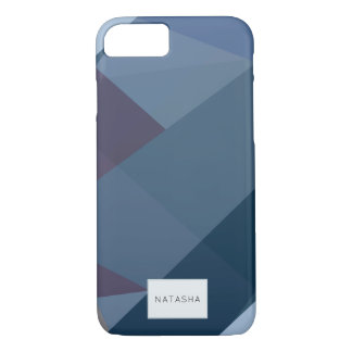 Modern Romantic Color Block iPhone 7 Case iPhone 8/7ケース