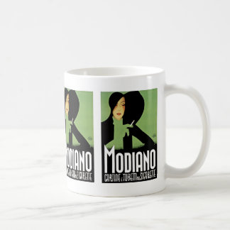 Modianoのタバコの広告 コーヒーマグカップ