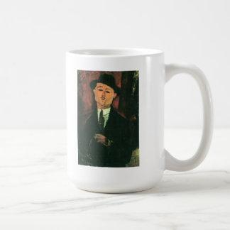 Modiglianiアメーデオのポートレート コーヒーマグカップ