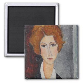 Modiglianiアメーデオのポートレート マグネット