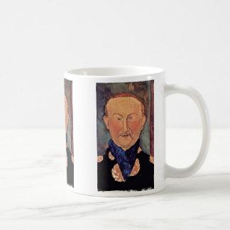 Modiglianiアメーデオ著レオンBakstのポートレート コーヒーマグカップ