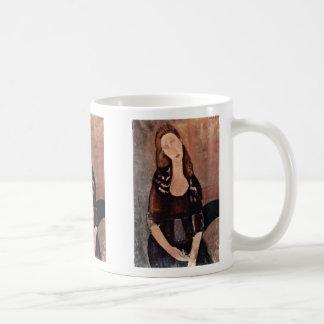 Modiglianiアメーデオ著Jeanne Hébuterneのポートレート コーヒーマグカップ