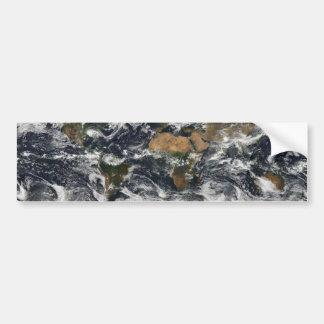 MODISの世界地図 バンパーステッカー