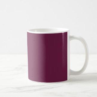 Modishly腕利きのあずき色色 コーヒーマグカップ