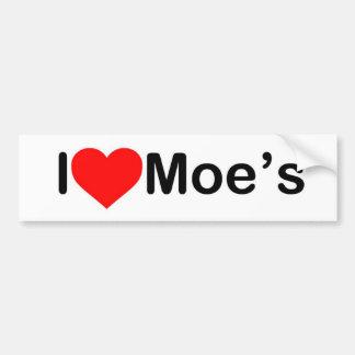MoeのBumberのステッカー バンパーステッカー
