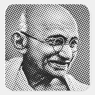 Mohandas Gandhi スクエアシール