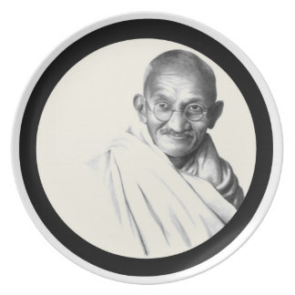 Mohandes Gandhi プレート