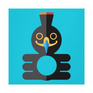Mo'Haugh Clupkitz (Esq。) 公式家族のポートレート キャンバスプリント
