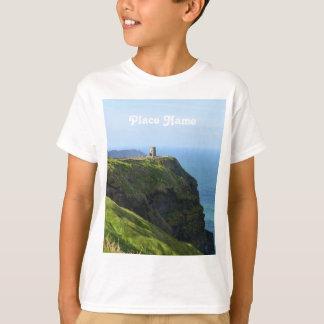 Moherの美しい緑の崖 Tシャツ