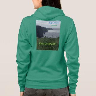 Moherアイルランドのスエットシャツのアイルランドの崖 パーカ