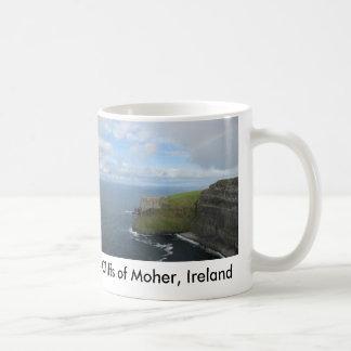 Moher、アイルランドの崖 コーヒーマグカップ
