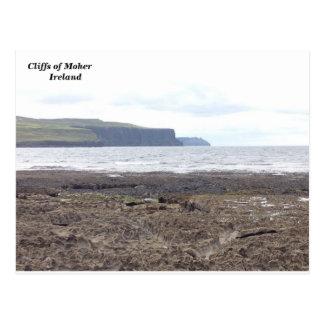 Moher、Co.ドクレア、アイルランドの崖 ポストカード