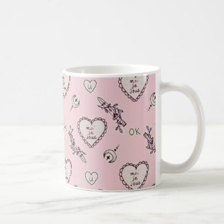 Moiのje JoueエミリーX MILKGRRL コーヒーマグカップ