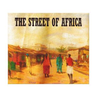 MOJISOLA A GBADAMOSI OKUBUによるアフリカの通り キャンバスプリント