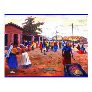 MOJISOLA A GBADAMOSI OKUBUによるアフリカの通り ポストカード