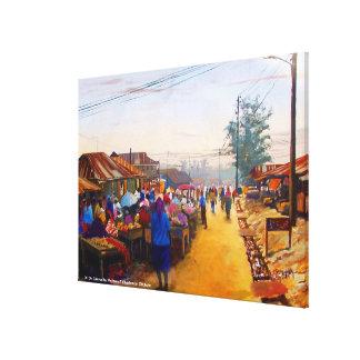 MOJISOLA A GBADAMOSI OKUBULEによる市場 キャンバスプリント
