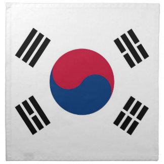 MoJoのナプキンの韓国の旗 ナプキンクロス