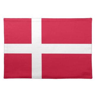 MoJoのランチョンマットのデンマークの旗 ランチョンマット