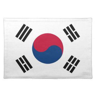 MoJoのランチョンマットの韓国の旗 ランチョンマット