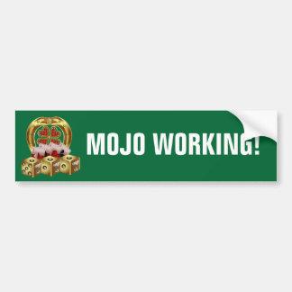 Mojoの速い運Mojo Workin! バンパーステッカー