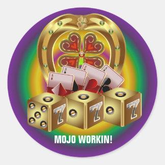 Mojoの速い運Mojo Workin! ラウンドシール