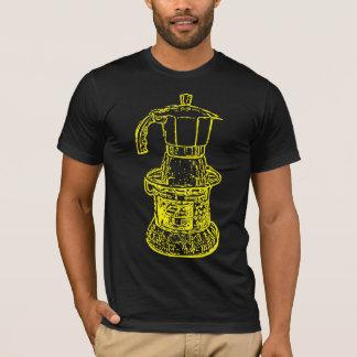 mokapotのコーヒーダンスのワイシャツのTシャツ Tシャツ