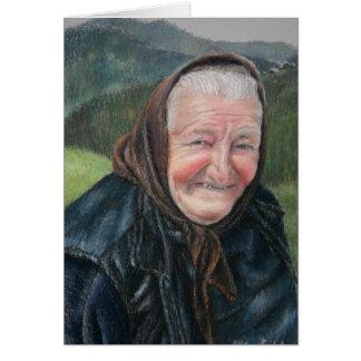 Mokra Goraのおばあさん カード