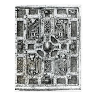 Molaise、c.1001-1025の本神社かCumdach ポストカード