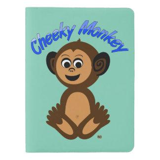 """Moleskineのノートカバー、写実的な""""生意気な猿"""" エクストララージMoleskineノートブック"""