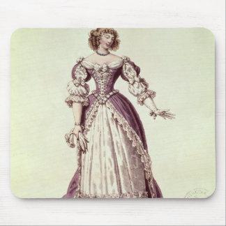 Moliere、旧姓Armande Bejart夫人 マウスパッド