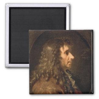 Moliere 1660年のポートレート マグネット